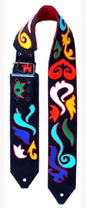 Abstract Custom Guitar Strap