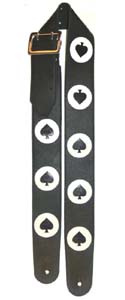 Ace of Spades Guitar Strap