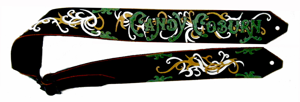 Candy Coburn Custom Guitar Strap