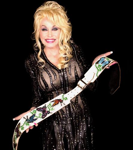 Dolly Parton Custom Guitar Strap