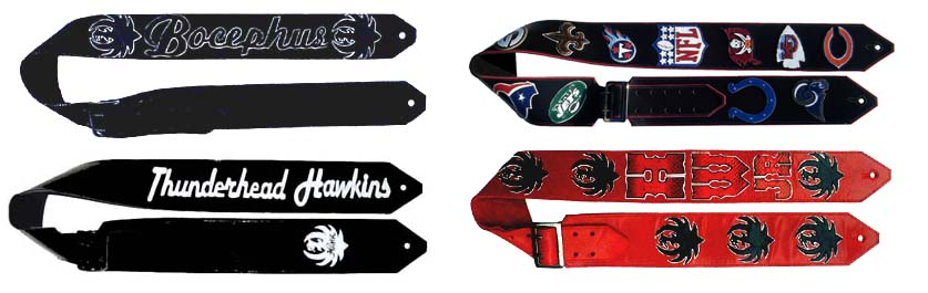 Hank Williams Jr Custom Guitar Straps