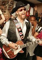 Hank Williams Jr. Custom Guitar Strap