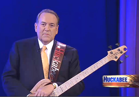 Governor Huckabee Guitar Strap