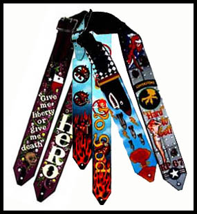 Personalized Custom Guitar Straps