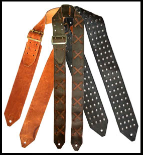 IN STOCK JERI DESIGNS GUITAR STRAPS