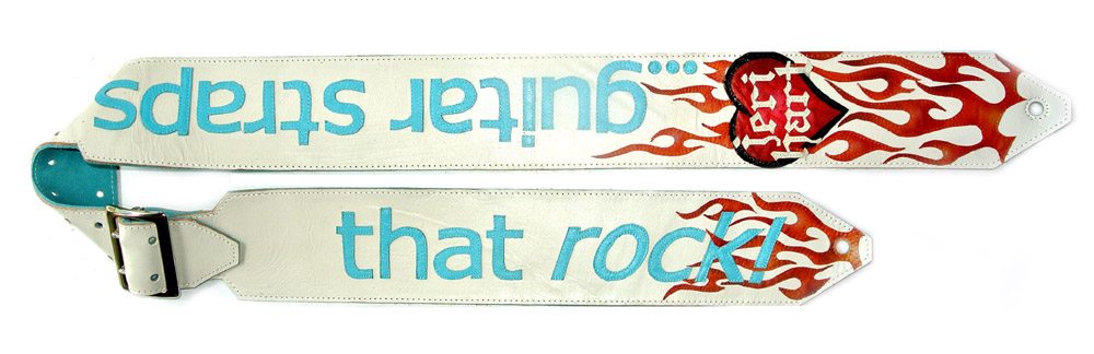 Custom Guitar Strap Hart