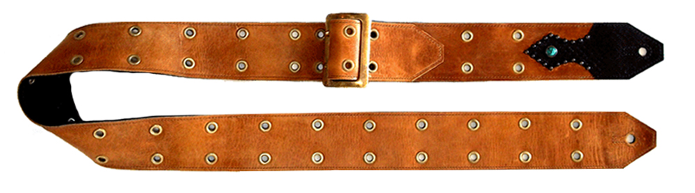 Johnny Henry's First Guitar Strap