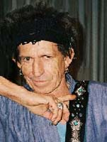 Keith Richards Guitar Strap