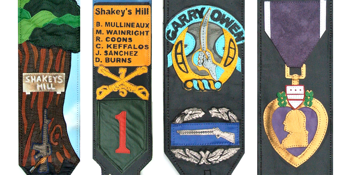War Hero Custom Guitar Strap
